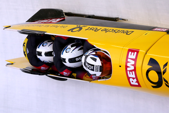 Maximilian Arndt has recorded a second win of the season after piloting his team to victory at the Bobsleigh and Skeleton World Cup in Königssee ©Getty Images