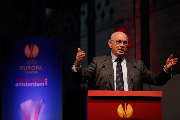 Michael van Praag, head of the Royal Dutch Football Association, is running for FIFA Presidency ©Getty Images