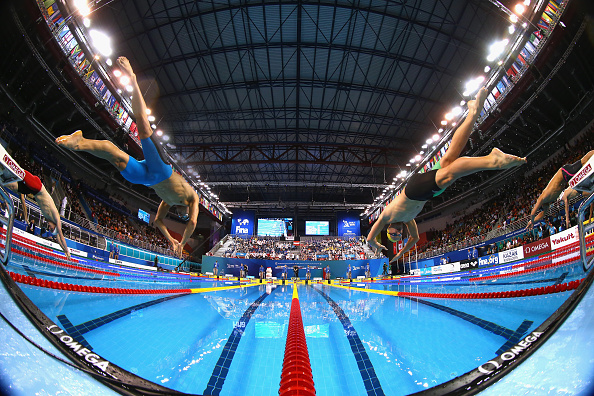 Mixed relay has been added to the schedule for the 2015 World Aquatics Championships ©Getty Images