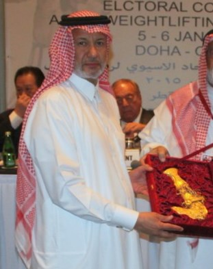 Qatar's Mohamed Yousef Al Mana has been re-elected President of the Asian Weightlifting Federation ©IWF