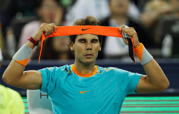 Nadal was suffering with injury throughout but eventually sealed his progress with a five set win against American qualifier Tim Smyczek ©Getty Images