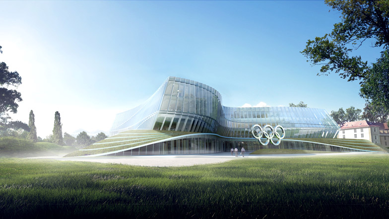 Olympic Unity House will become the IOC's new headquarters in Lausanne ©IOC