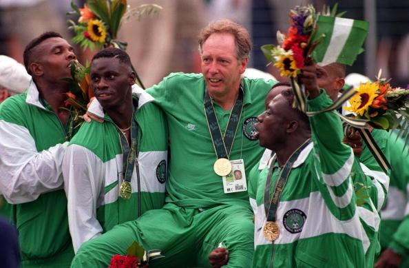 Nigeria won gold at the Atlanta 1996 Summer Olympics ©Getty Images