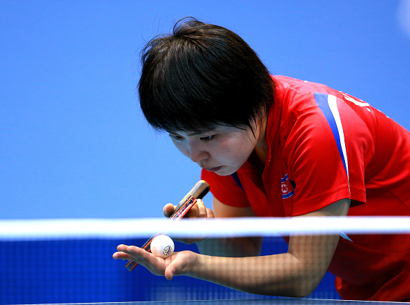 North Korea enjoyed a superb win over Hong Kong on the opening day of action ©ITTF