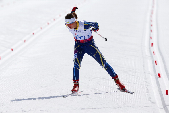 Oleksandra Kononova claimed her fourth gold medal at the IPC Nordic Skiing World Championships in Cable ©Getty Images