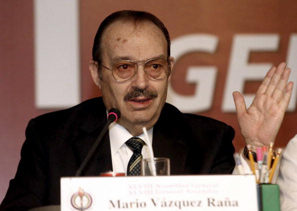 PASO and former ANOC chief Mario Vázquez Raña is not attending the PASO General Assembly ©AFP/Getty Images