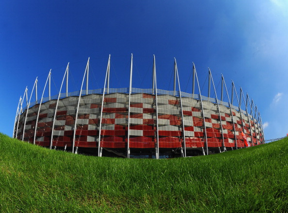 Poland's National Stadium in Warsaw is likely to be one of the venues for the 2017 European Under 21 Championship ©Getty Images