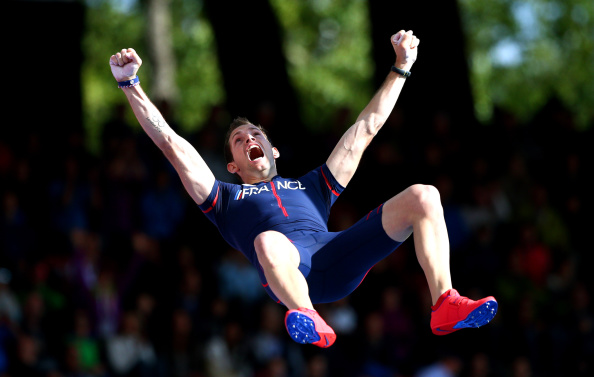 Pole vault world record holder Renaud Lavillenie could conceivably be in action at Baku 2015 after the EOC revealed details of the street athletics programme to be staged at the inaugural European Games ©Getty Images