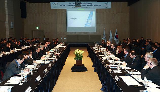 Preparations for Pyeongchang 2018 remain tight, the IOC has claimed ©Pyeongchang 2018