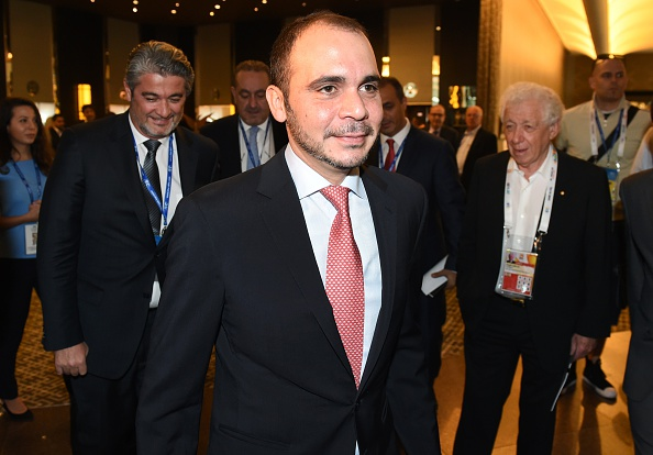 Prince Ali Bin Al-Hussein announced his candidacy for the FIFA Presidency later this month ©Getty Images
