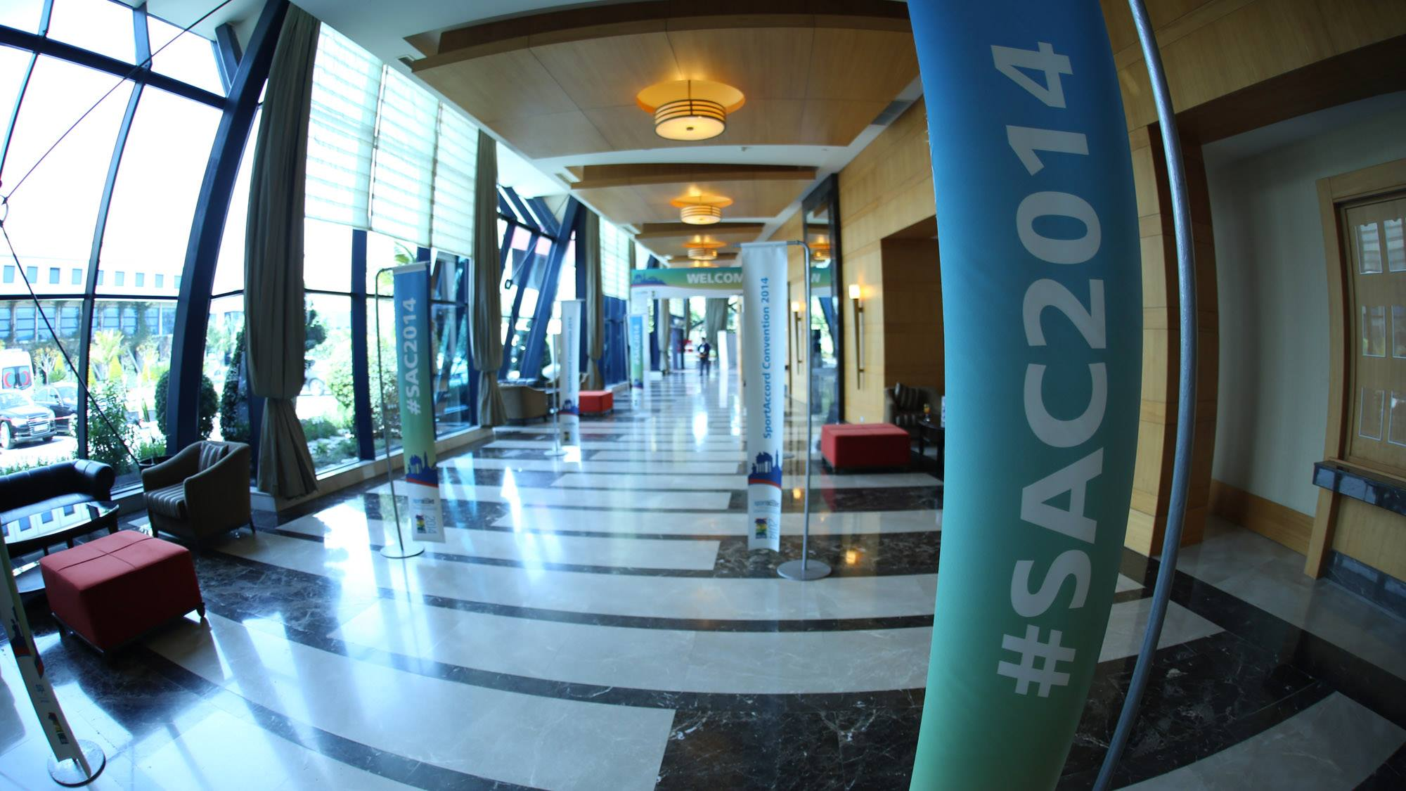 Red Torch helped organise last year's SportAccord Convention in Belek, but will play no role in the 2015 event ©SportAccord Convention
