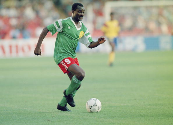 Roger Milla came along and made the world sit up and take notice of African football ©Getty Images