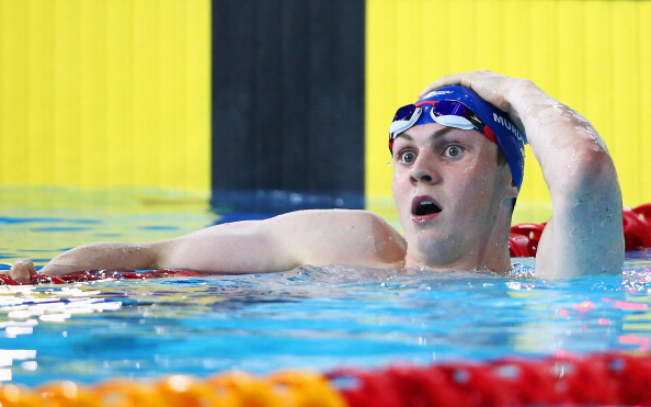Ross Murdoch's gold medal in the 200m Breaststroke Final was named the most inspirational sporting moment ©Getty Images