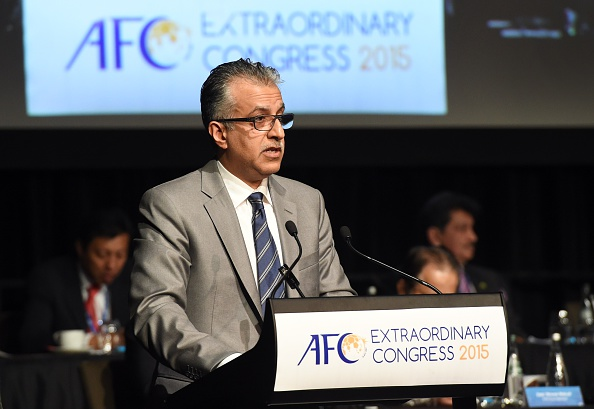 """Salman bin Ebrahim Al Khalifa, President of the AFC, says he's confident that the division of Asia's south and central zone is """"a positive step for the development of football"""" ©Getty Images"""