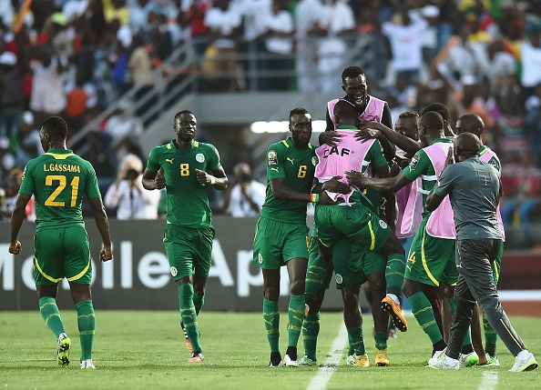 Senegal scored a last gasp winner to wrap up all three points against Ghana ©Getty Images