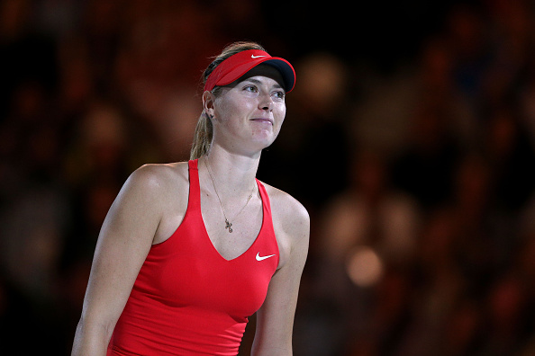 Sharapova has not beaten Serena Williams since 2004 ©Getty Images
