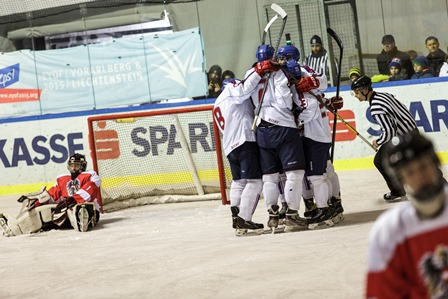 Slovakia beat Austria 9-1 to claim fifth place in the ice hockey competition ©EYOF 2015