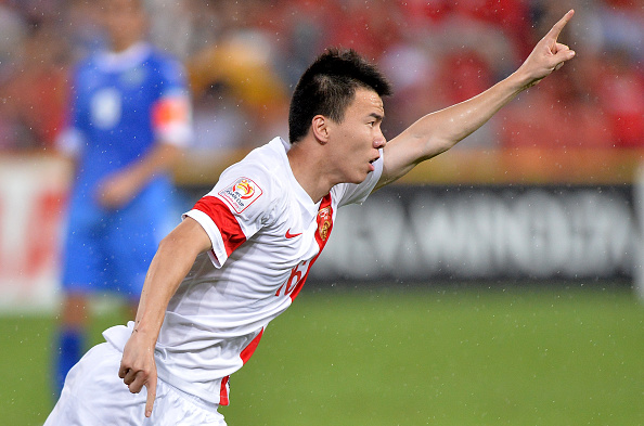 Substitute Sun Ke came off the bench and bagged the winning goal as China came from behind to beat Uzbekistan