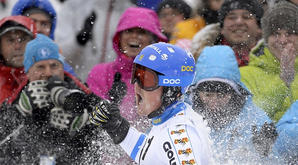 Sweden's Mattias Hargin secured his first World Cup win ©AFP/Getty Images