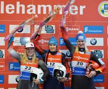 Tatiana Ivanava halted German dominance by winning in Lillehammer ©FIL