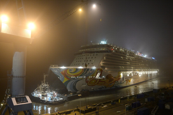 The 145,000 tonne Norwegian Getaway is set to be docked in Rio de Janeiro during next year's Olympic Games, supplementing the city's hotel capacity ©Getty Images