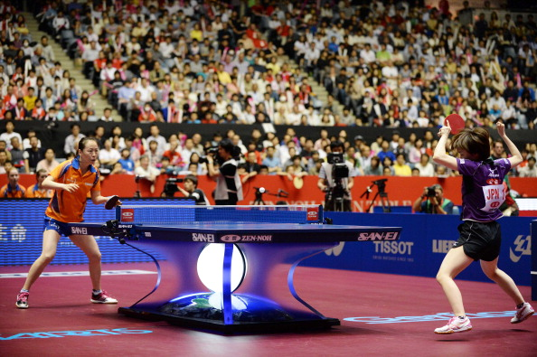 The 2015 World Championship in Chinese city Suzhou in April is set to be the most viewed table tennis event of all time, the ITTF have predicted ©Getty Images
