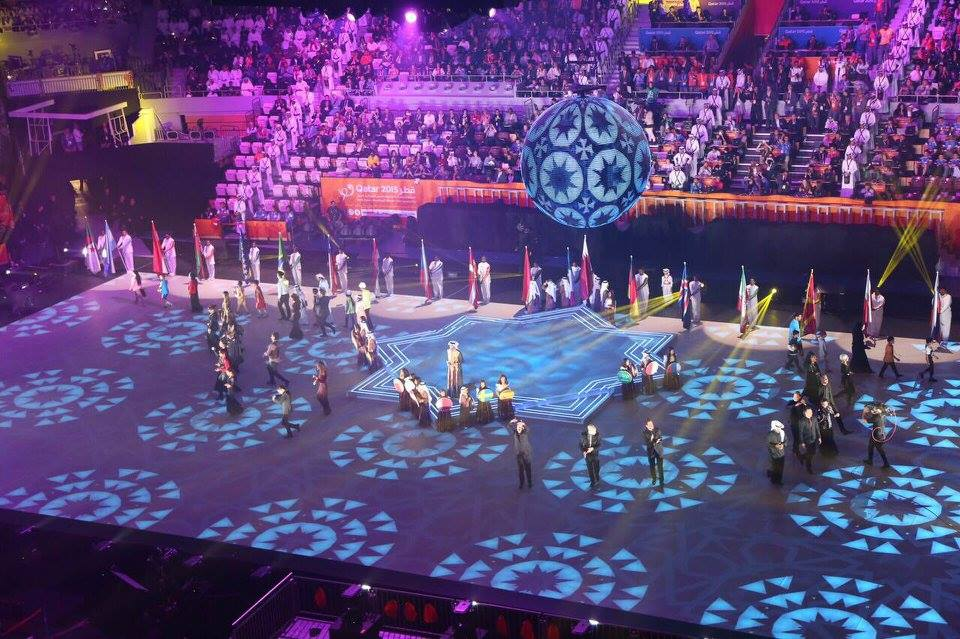 The 24th Men's Handball World Championship have opened in Qatar ©Qatar 2015/Facebook