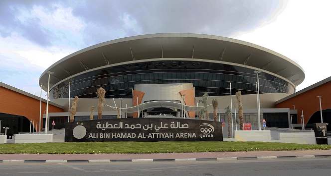 The Ali Bin Hamad Al-Attiya Arena also achieved the four-star rating ©Qatar Olympic Committee