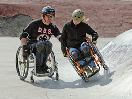 """The DRS """"Together we can get the ball rolling"""" campaign is aimed at promoting inclusion ©DRS"""