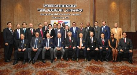 The Extraordinary WTF Council Meeting in Bangkok saw 25 Council members attend, plus two auditors ©WTF