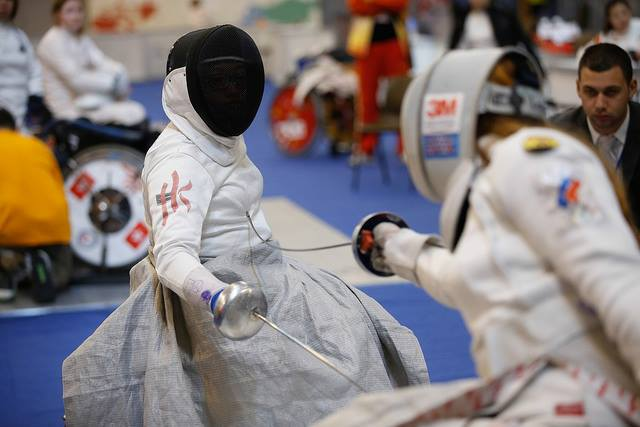 The International Wheelchair and Amputee Sports Federation Fencing Grand Prix took place in Hong Kong ©HKPC&SAPD