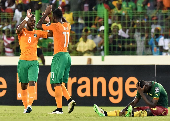 The Ivory Coast recorded a 1-0 win over Cameroon to book their spot into the quarter-finals of the Africa Cup of Nations as Group D winners ©Getty Images