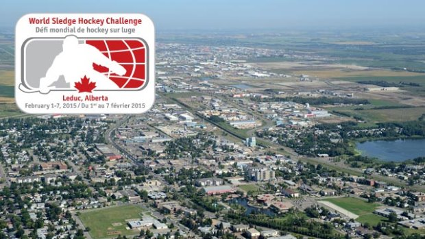 The Leduc Recreation Centre will host the 2015 World Sledge Hockey Challenge ©HockeyCanada