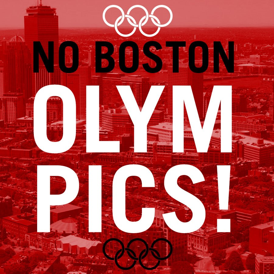 """The """"No Boston Olympics"""" opposition group claims that a Games in the city will prove too costly for taxpayers ©No Boston Olympics/Facebook"""