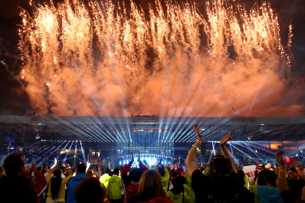 The Opening and Closing Ceremonies were found to be the most inspirational moments of the Glasgow 2014 Commonwealth Games ©Getty Images