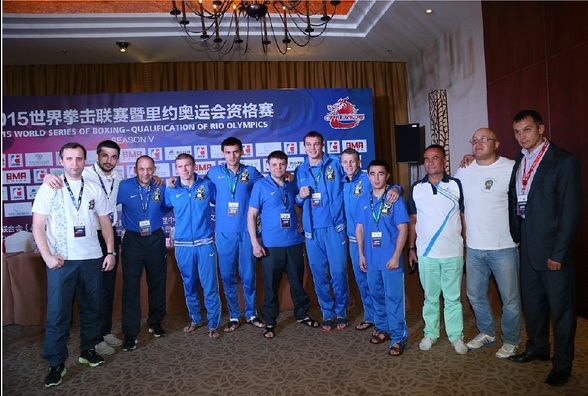 The Ukraine Otamans came away from a tricky test with the China Dragons with a narrow 3-2 victory in Sanya ©WSB