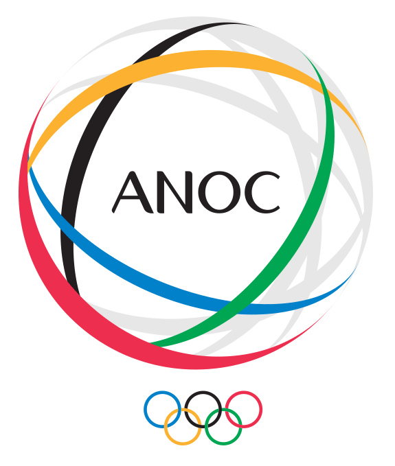The launch of ANOC's new logo was selected as one 2014 highlight by Sheikh Ahmad Al Fahad Al Sabah ©ANOC