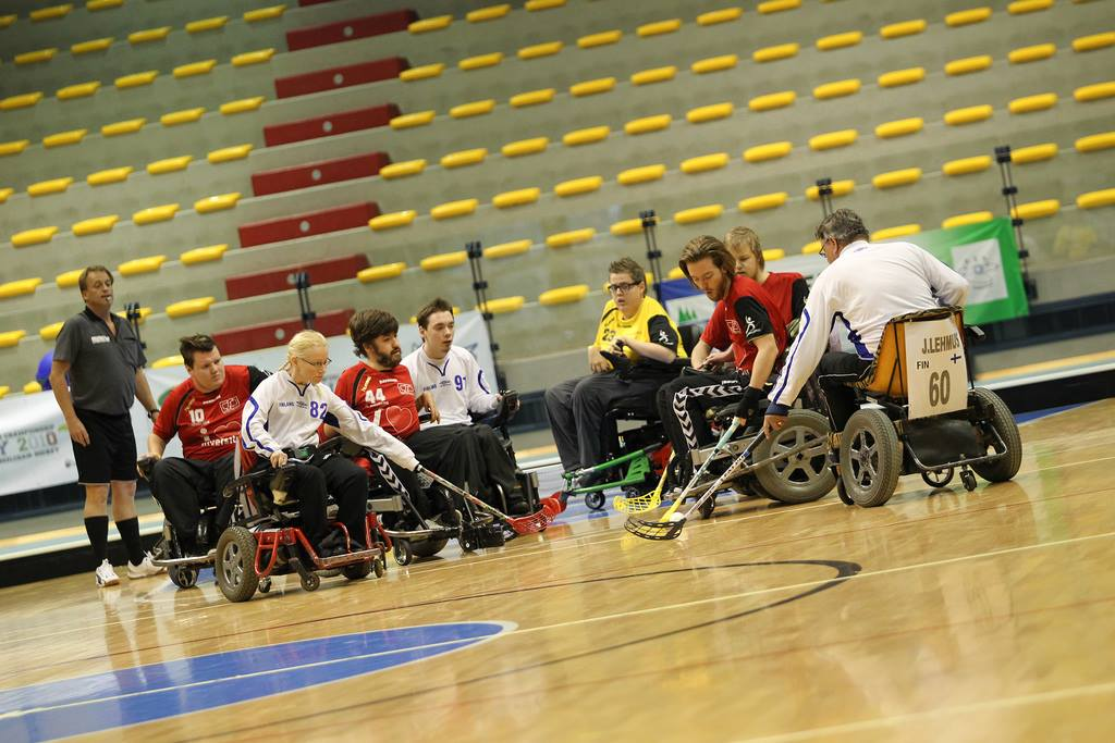 The sport recently underwent an overhaul, which included a name change from electric wheelchair hockey to powerchair hockey ©IWAS/Facebook