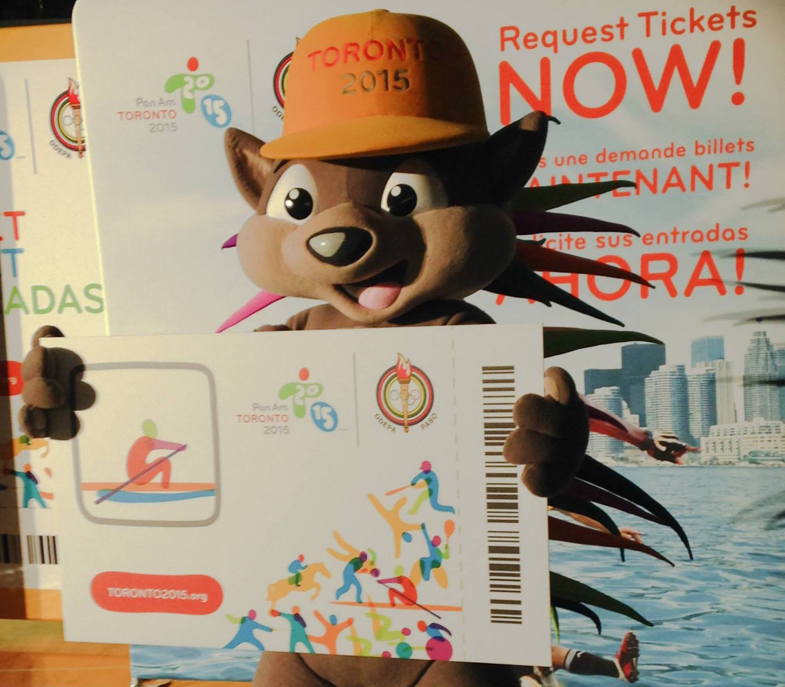 Tickets for the Toronto 2015 Pan American Games are going fast ©Toronto 2015/Facebook