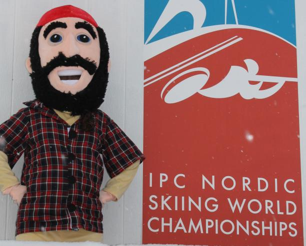 Tim Burr will be the face of the 2015 IPC Nordic Skiing World Championships which get underway on January 23