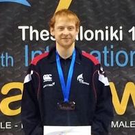 Tony Stephenson won his first WTF Taekwondo gold ©GB Taekwondo