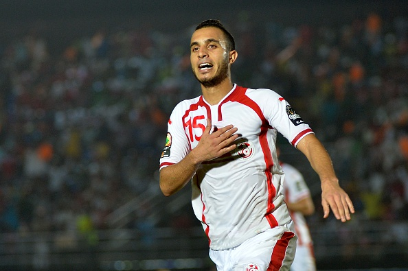 Tunisia midfielder Mohammed Ali Moncer put his side ahead but Cape Verde levlled shortly after ©Getty Images