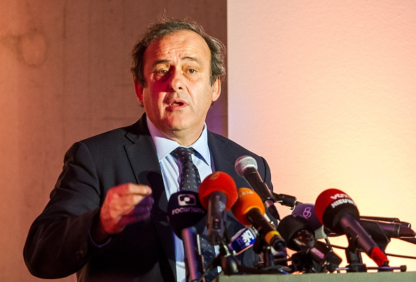 UEFA President Michel Platini could harbour hopes of eventually becoming FIFA President ©Getty Images