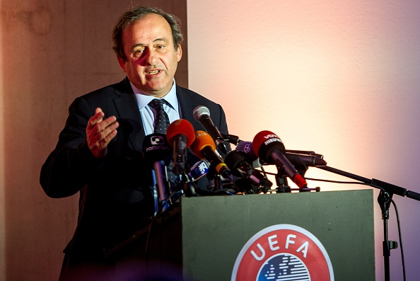 UEFA President Michel Platini has already ruled himself out of the FIFA Presidential election ©Getty Images