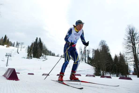 Ukraine's Oksana Shyshkova managed to break up Russia's dominance of the cross-country sprint events ©Getty Images