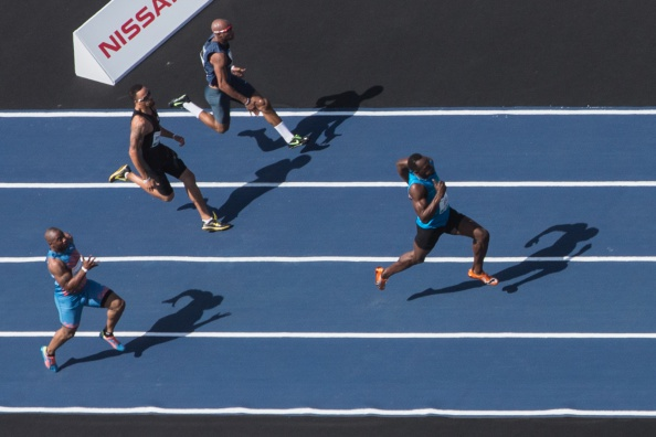 Athletics requires more globabl stars like Usain Bolt and street racing could become more common ©AFP/Getty Images