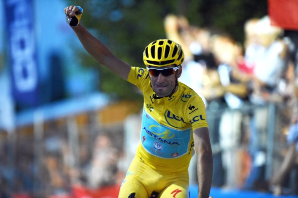 Vincenzo Nibali's Astana team have been embroiled in doping controversy and Armstrong feels their World Tour licence should have been revoked ©Getty Images