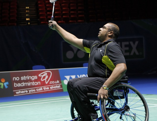 Wheelchair badminton will also make its Paralympic debut at Tokyo 2020 ©AllEngland Badminton