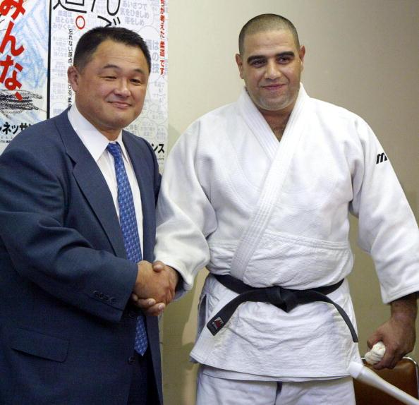 Yasuhiro Yamashita (left) was a long-time rival of Hitoshi Saito ©Getty Images