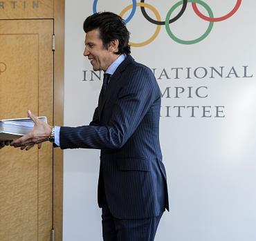 Christophe Dubi, IOC Executive Director for the Olympic Games, announced the opening of the 2024 process this morning ©Getty Images